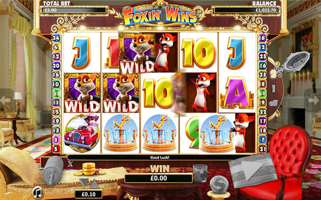 Foxin Wins Slot Screenshot