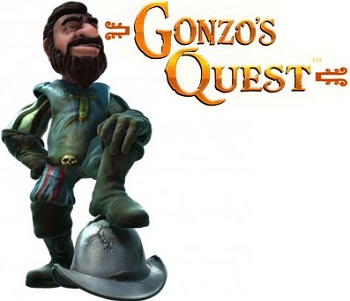 Gonzo's Quest slot character