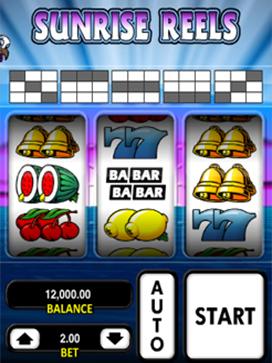 Sunrise Reels slot screenshot