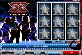 X Factor Scratchcard