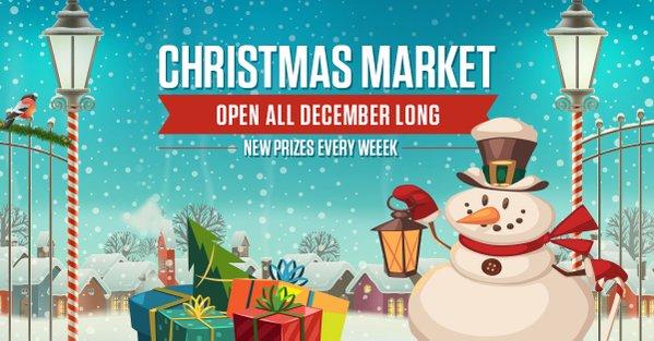 Ladbrokes Casino Christmas Market